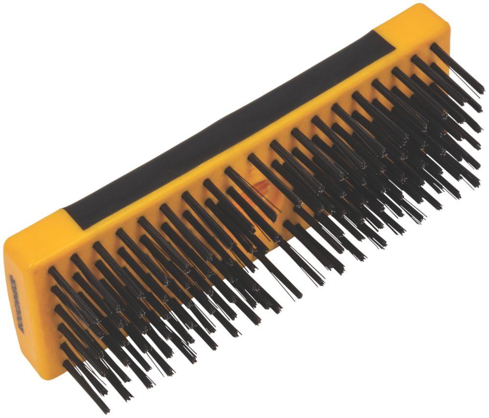 Roughneck Soft-Grip Heavy Duty Scrub Brush