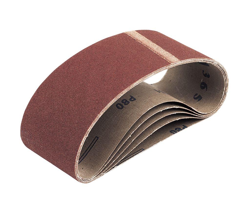 Cloth Sanding Belts Unpunched 533 x 75mm 60 Grit 5 Pack