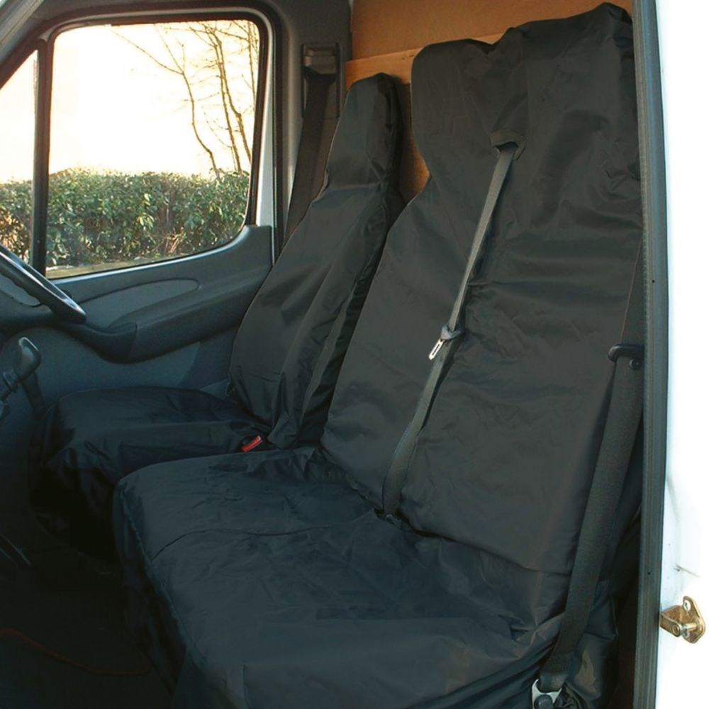 Maypole Van Seat Covers Black 2 Pack