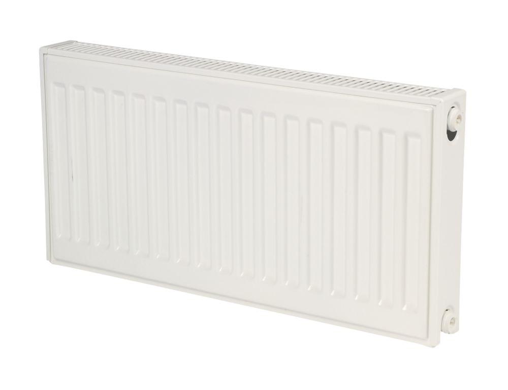 Kudox Premium  Type 21 Double-Panel Plus Single Convector Radiator 400 x 600mm White 2044BTU