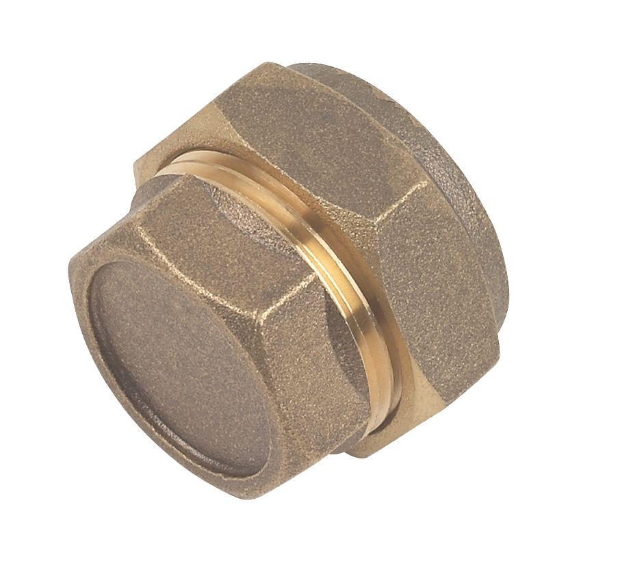 Compression Stop Ends 22mm 2 Pack