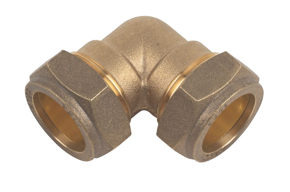 Compression Equal 90° Elbows 22mm 10 Pack