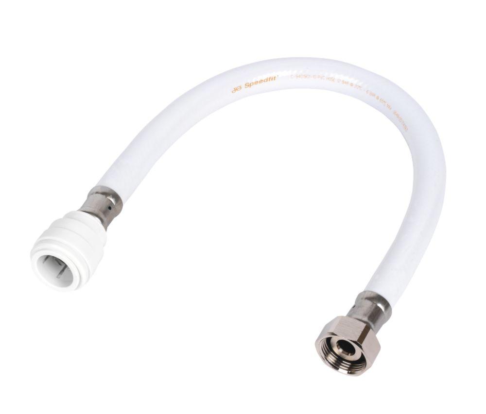 """JG Speedfit  Flexible Tap Connectors 22mm x ¾"""" x 500mm 2 Pack"""