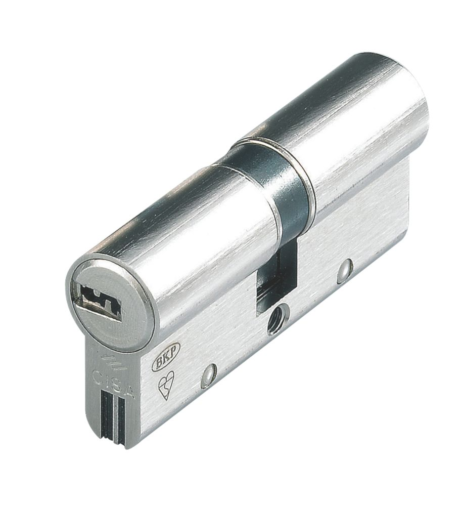Cisa  Astral S Series 10-Pin Euro Double Cylinder 30-30 (60mm) Nickel-Plated