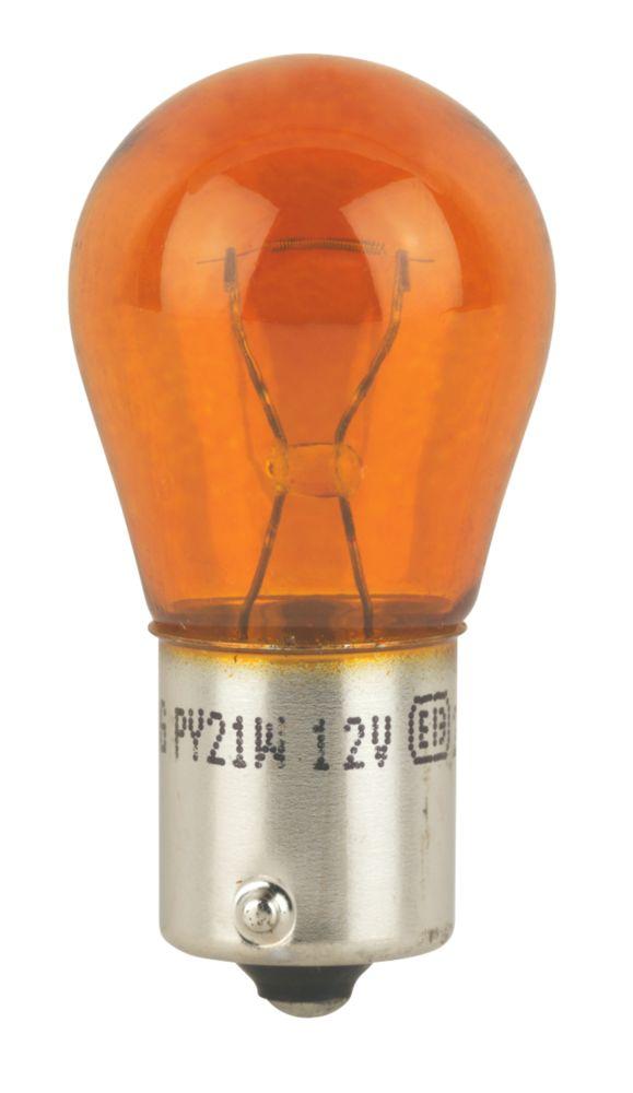 Ring BAU15s 12V Amber Indicator Light 21W 2 Pack