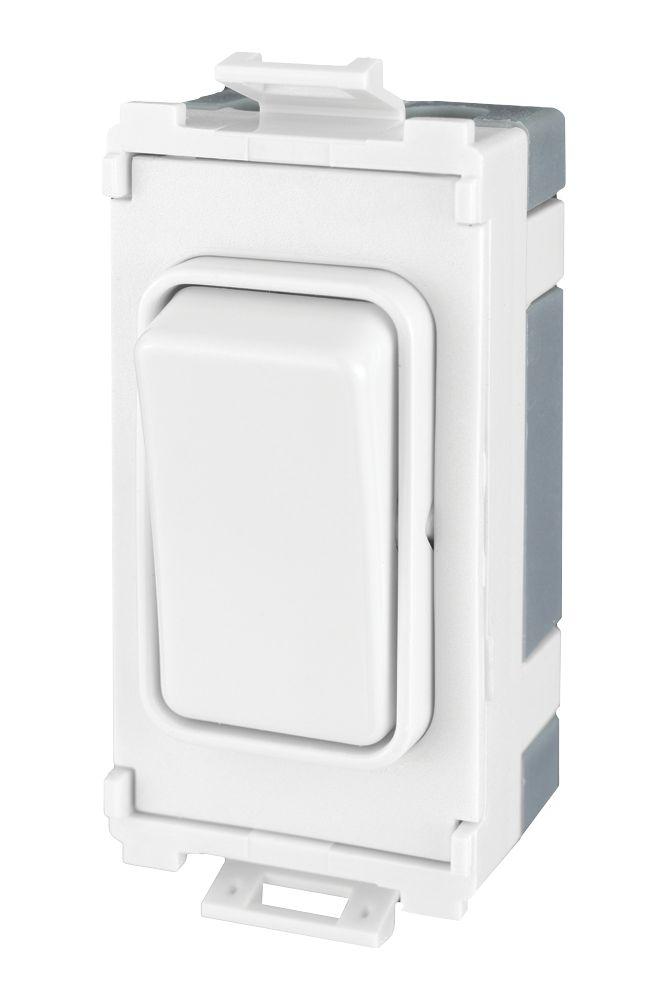Schneider Electric  10AX 2-Way   White
