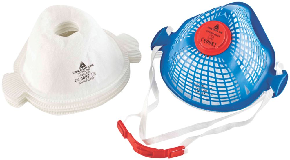Delta Plus Spider Mask Reusable Dust Mask with 5 Filters P3
