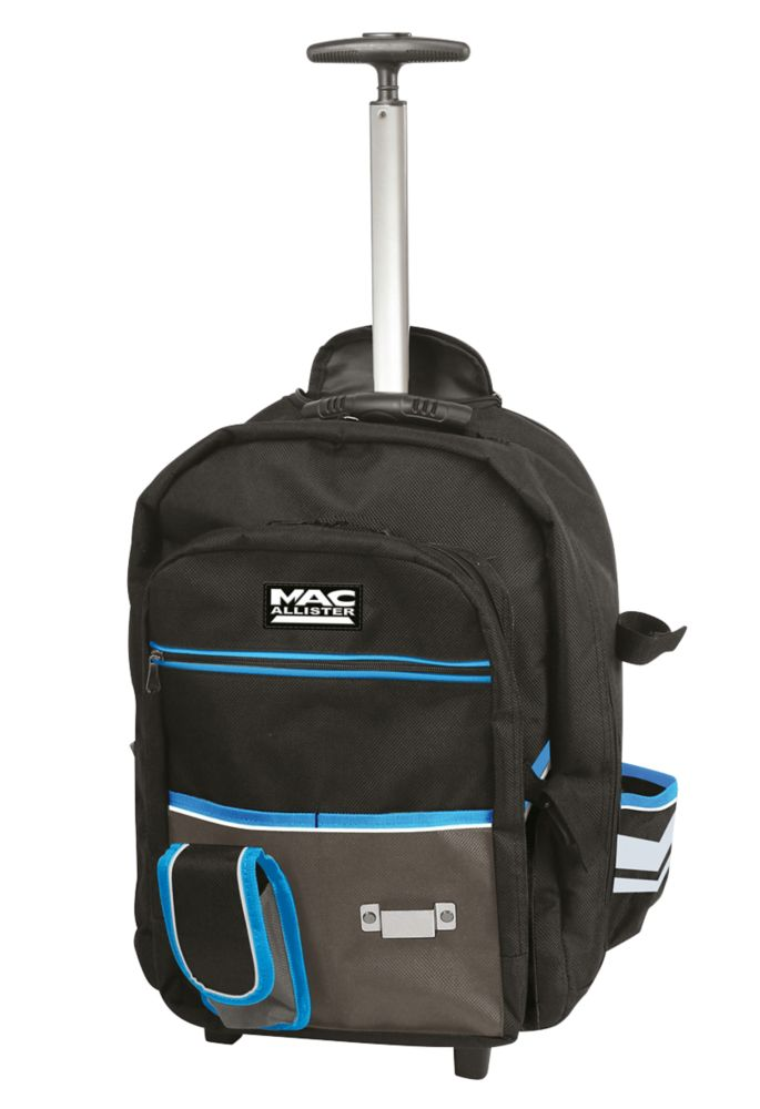 Mac Allister  Hard Base Backpack with Wheels 8Ltr