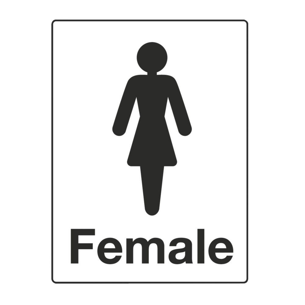 """Female"" Toilet Sign 200 x 150mm"