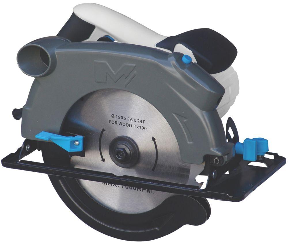 Mac Allister MSCS1500 1500W 190mm  Electric Circular saw 220-240V