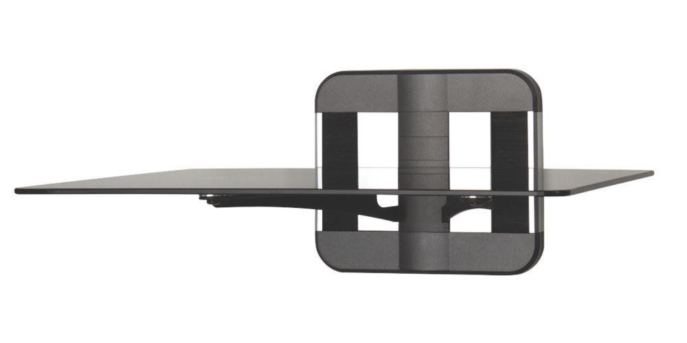 AVF Unimax ZMS1100 1-Tier TV Accessory Shelf Black