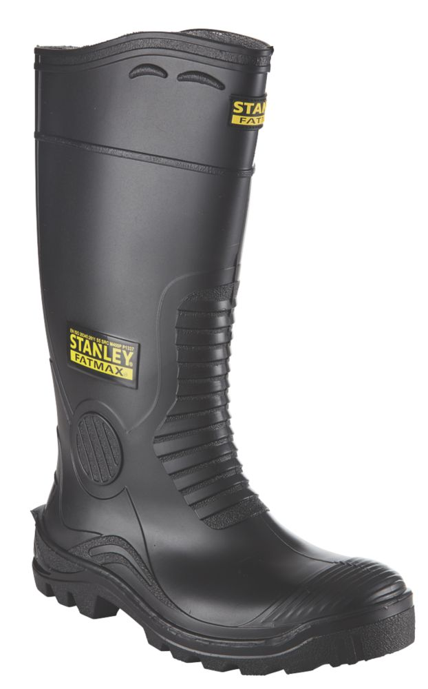 Stanley FatMax Vancouver   Safety Wellies Black Size 9