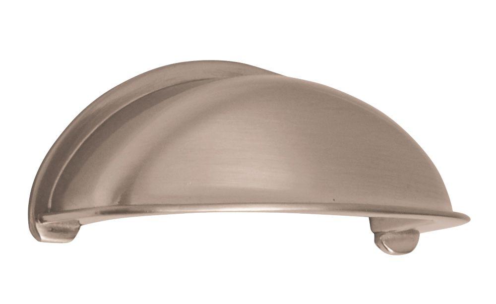 Siro Cabinet Cup Pull Handle 79mm Satin Nickel