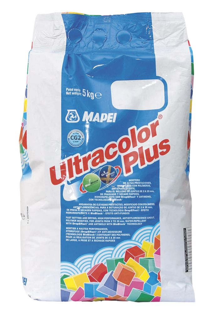 Mapei Ultracolor Plus Wall & Floor Grout  Tornado 5kg