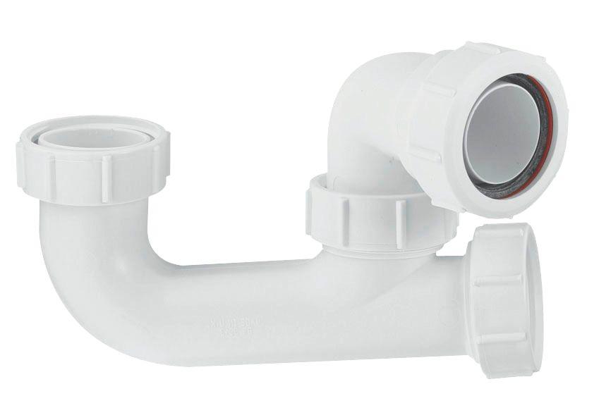 McAlpine Bath Trap White 40mm