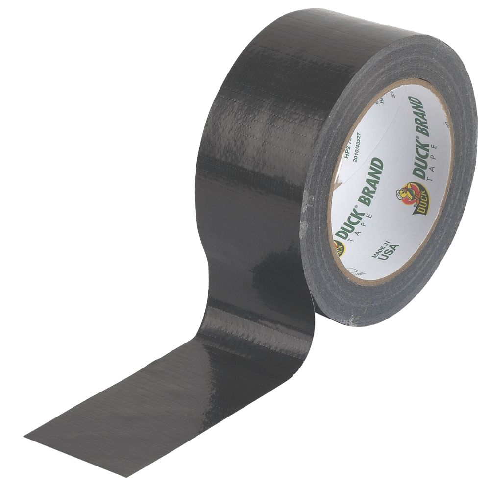 Duck Original Cloth Tape 50 Mesh Black 25m x 50mm
