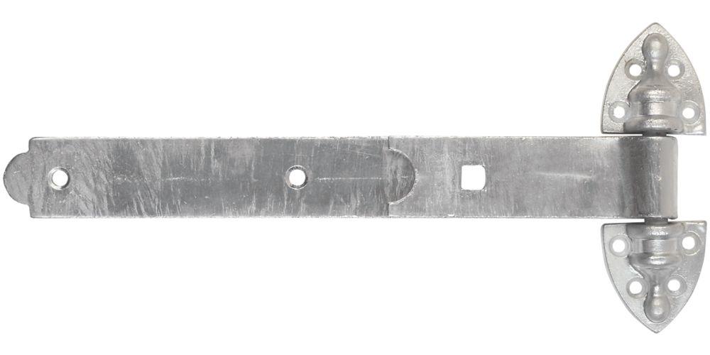 Smith & Locke  Heavy Duty Reversible Gate Hinges 25 x 300 x 145mm 2 Pack