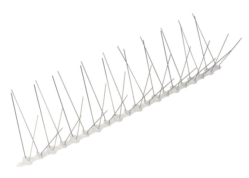 Pest-Stop  Stainless Steel Bird Spikes 500mm 10 Pack