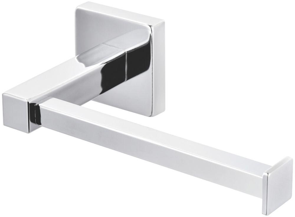 Cooke & Lewis Linear Toilet Roll Holder Chrome