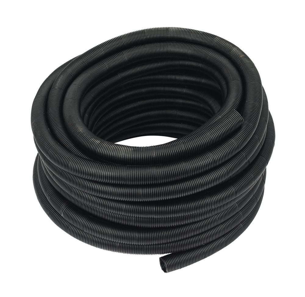 JG Speedfit 22blk con-25c   Conduit Pipe 22mm x 25m