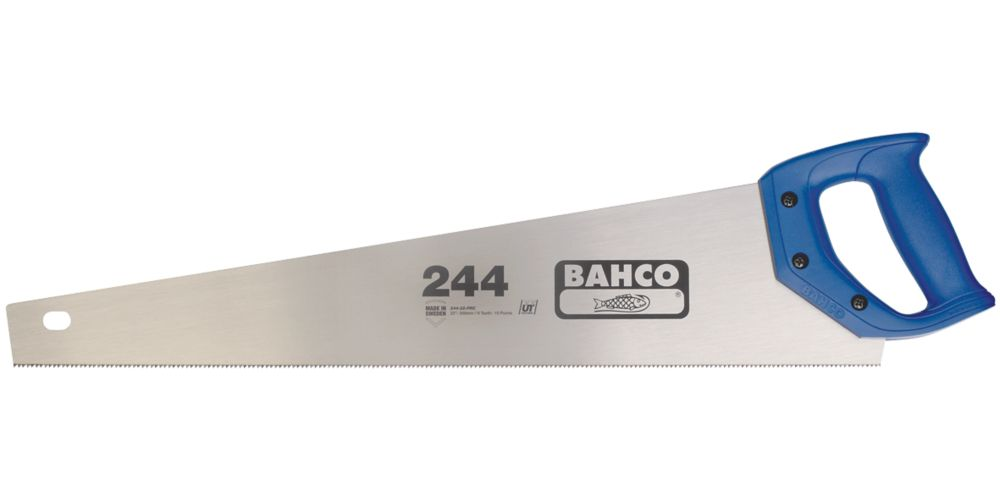 """Bahco  9/10tpi Softwood Handsaw 22"""" (550mm)"""
