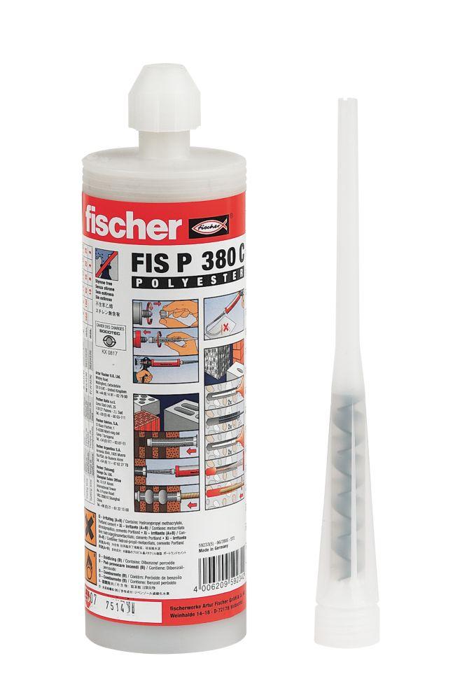 Fischer FIS P Polyester Styrene-Free Resin 380ml