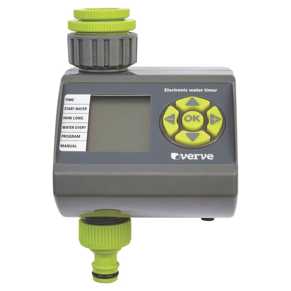 Verve Programmable Electronic Water Timer