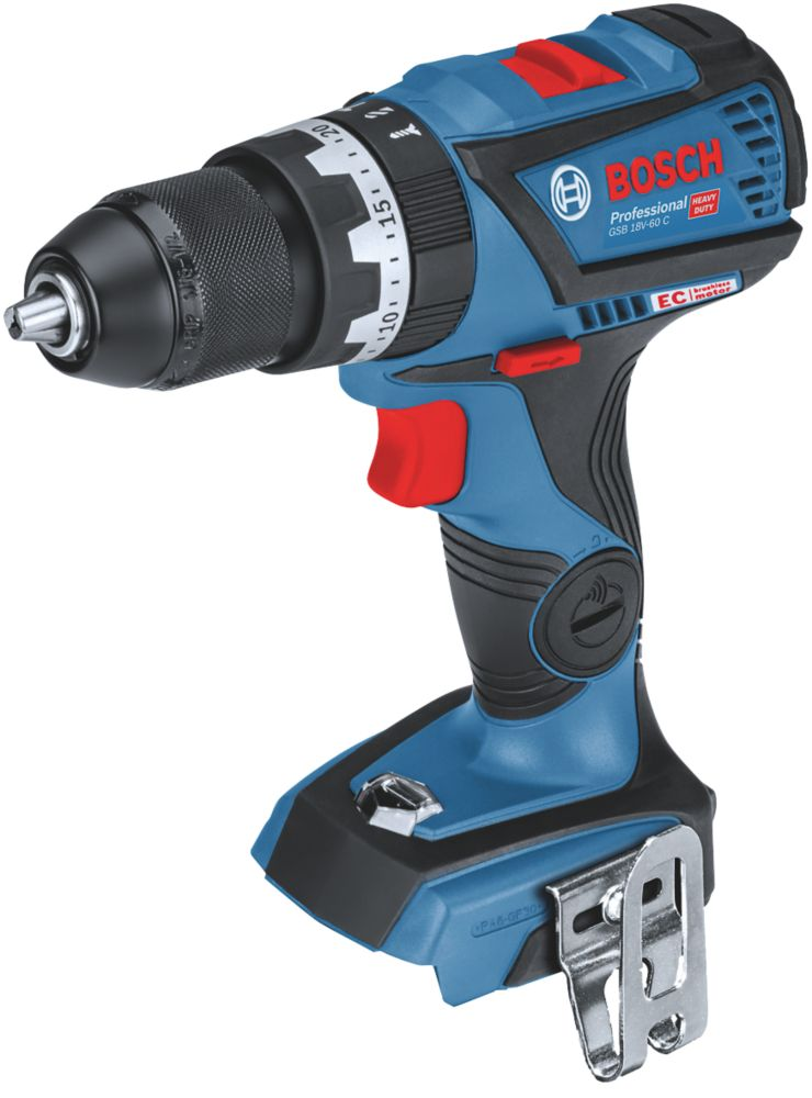 Bosch GSB18V-60 18V Li-Ion Coolpack Brushless Cordless Combi Drill - Bare