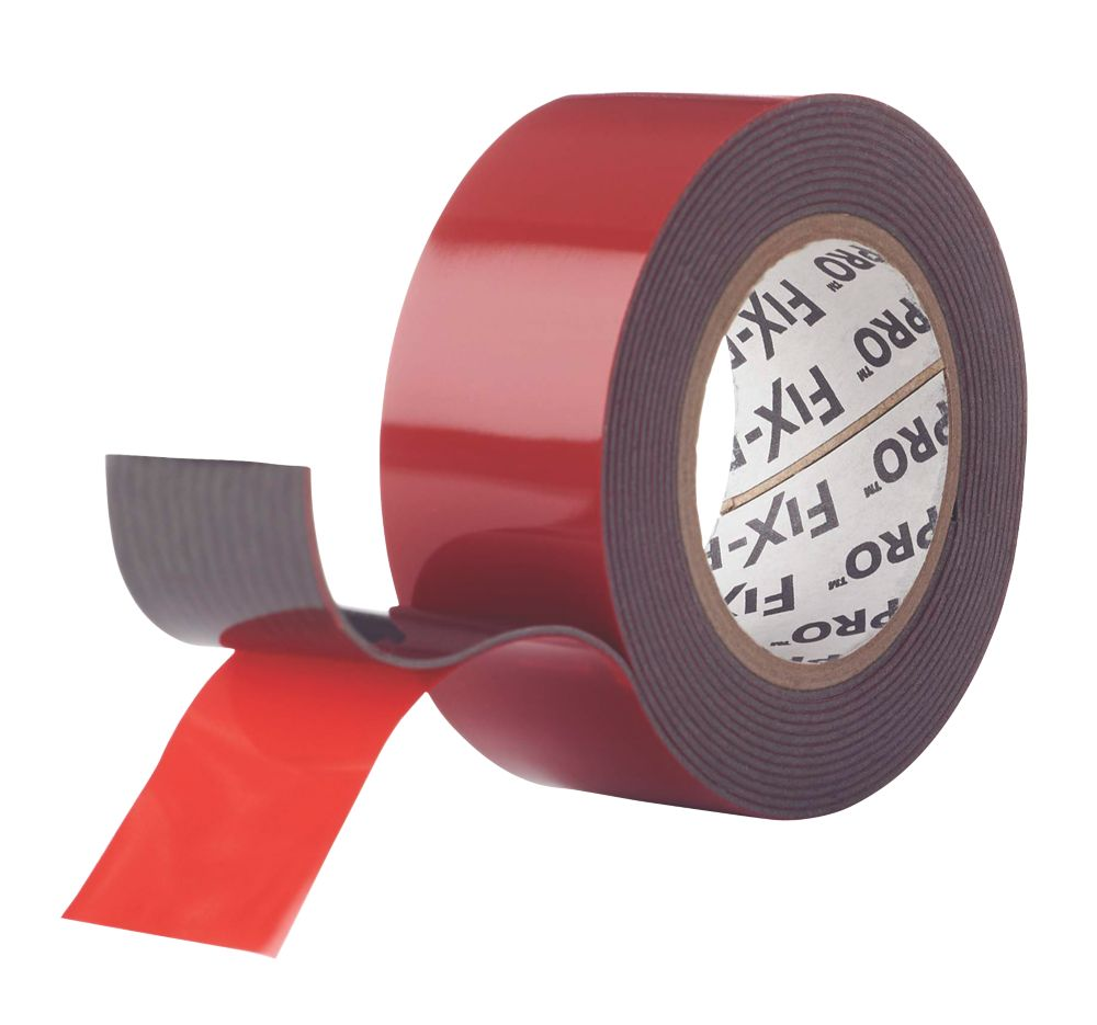 Velcro Brand Fix-Pro Extreme Mounting Tape Black 2m x 25mm