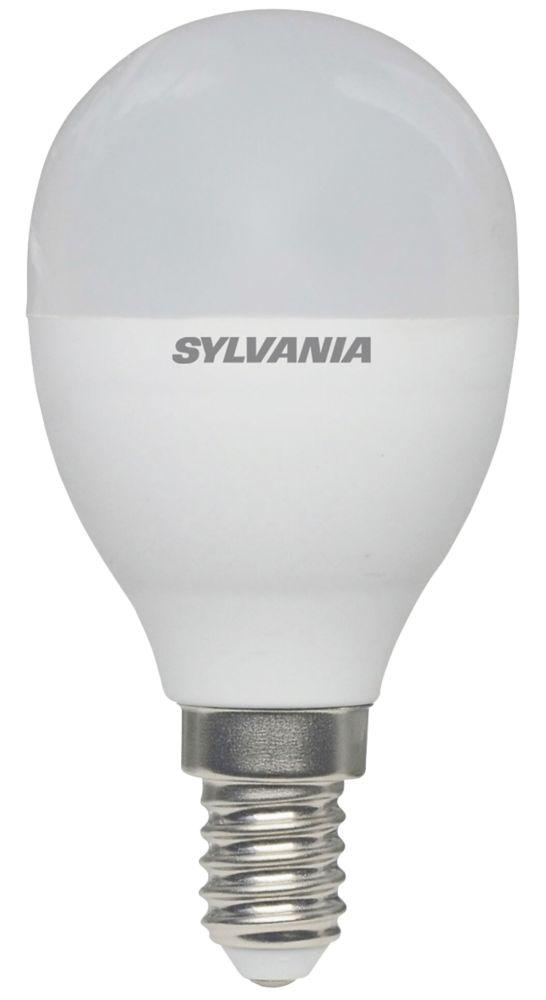 Sylvania  SES Mini Globe LED Light Bulb 806lm 8W