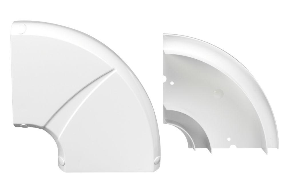 Schneider Electric Mita Flat Perimeter Trunking Angle 60 x 150mm