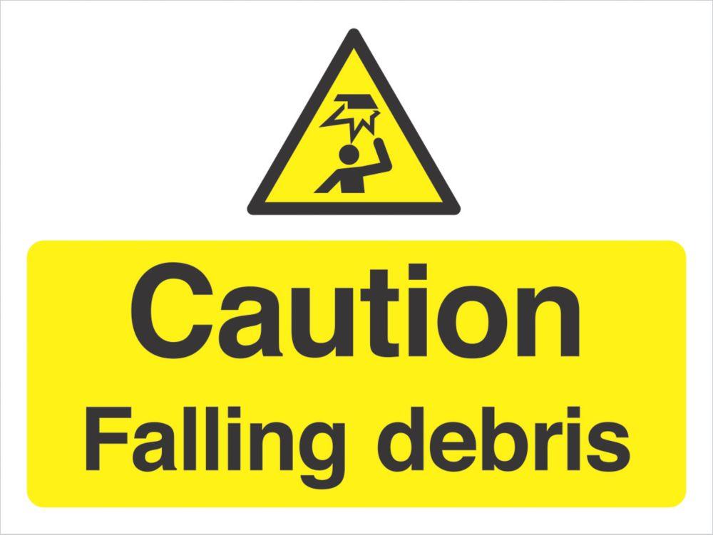 """Caution Falling Debris"" Sign 300 x 400mm"