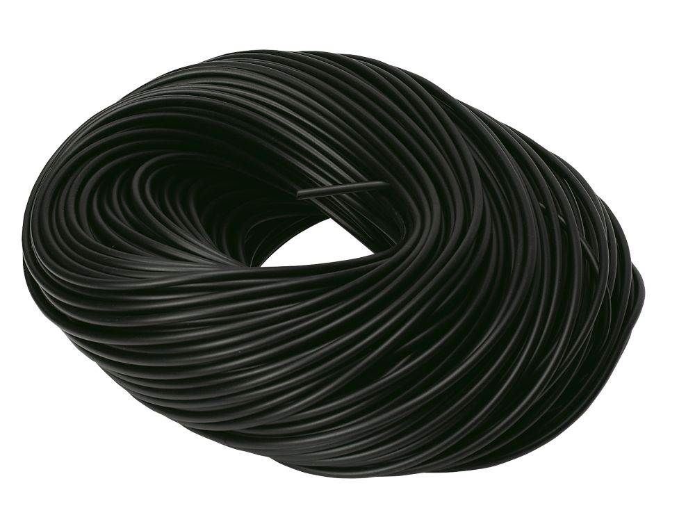 CED Black Sleeving 3mm x 100m