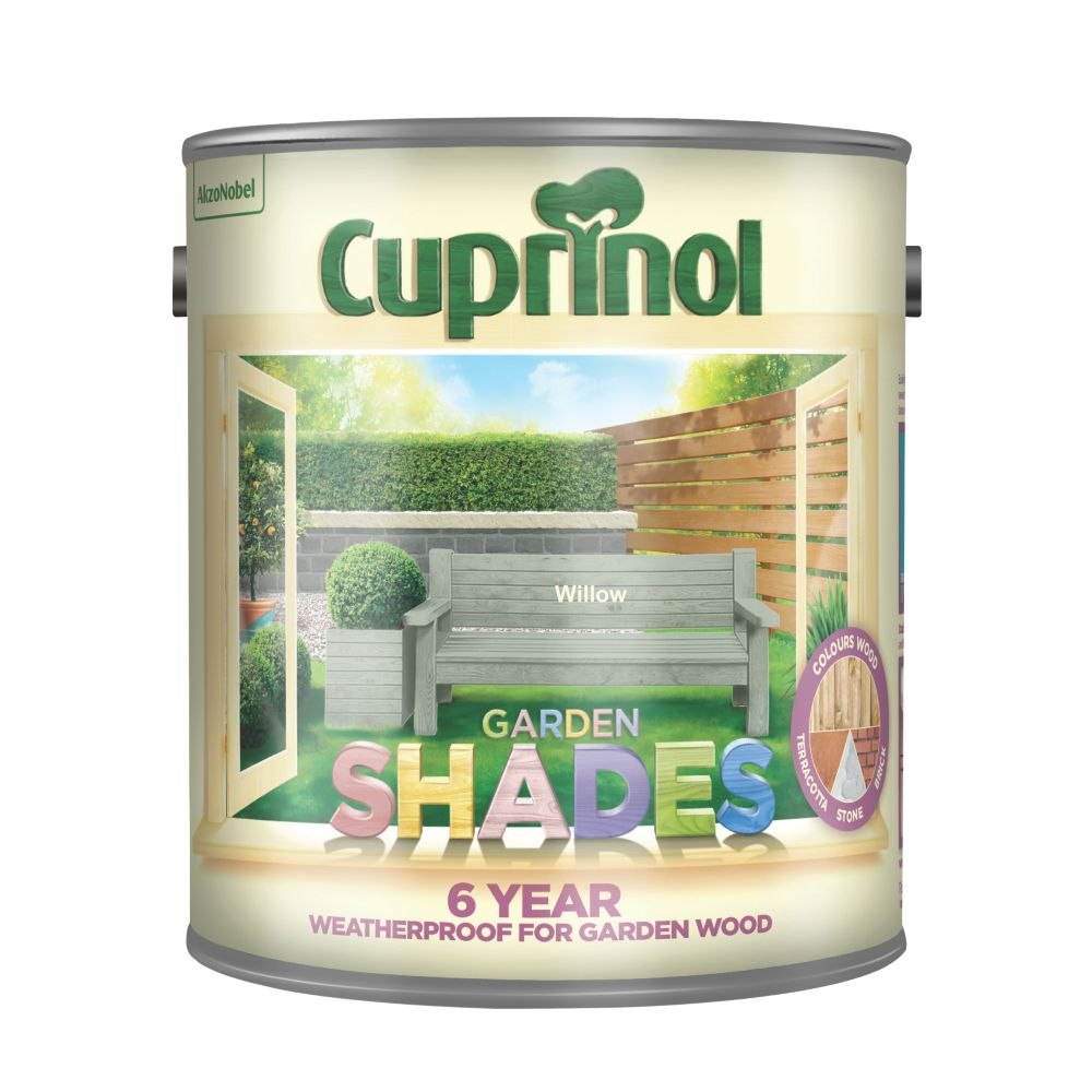 Cuprinol Garden Shades Woodstain Matt Willow 2.5Ltr