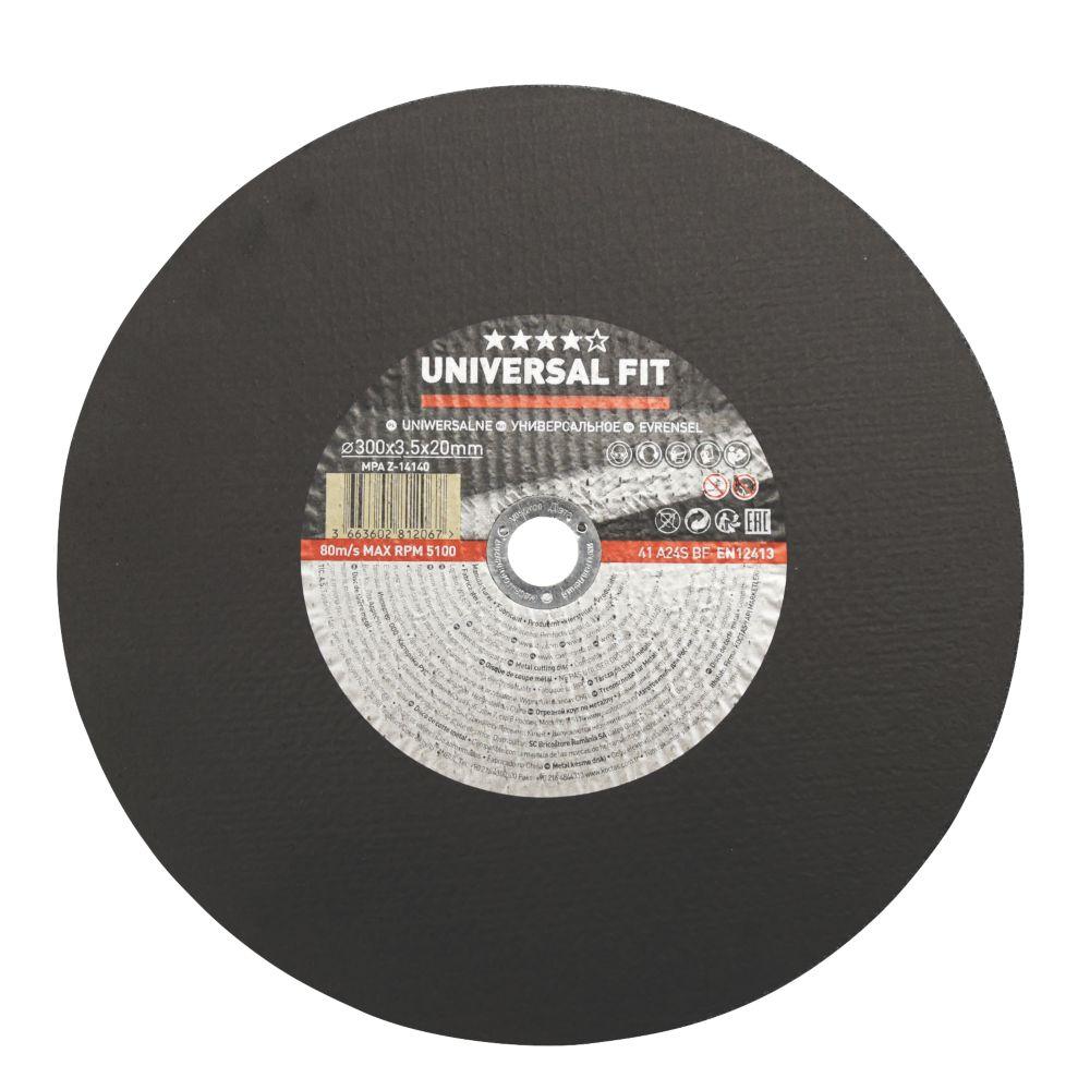 "Metal Metal Cutting Disc 12"" (300mm) x 3.5 x 20mm"