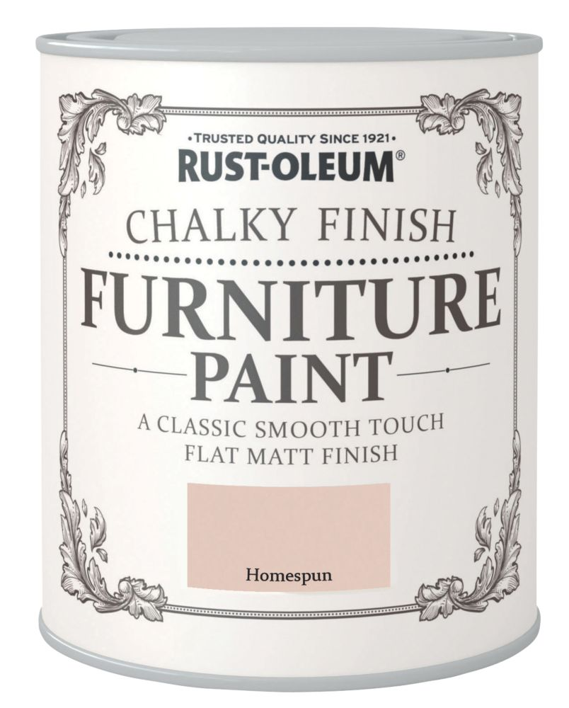 Rust-oleum Universal Furniture Paint Chalky Homespun Beige 750ml