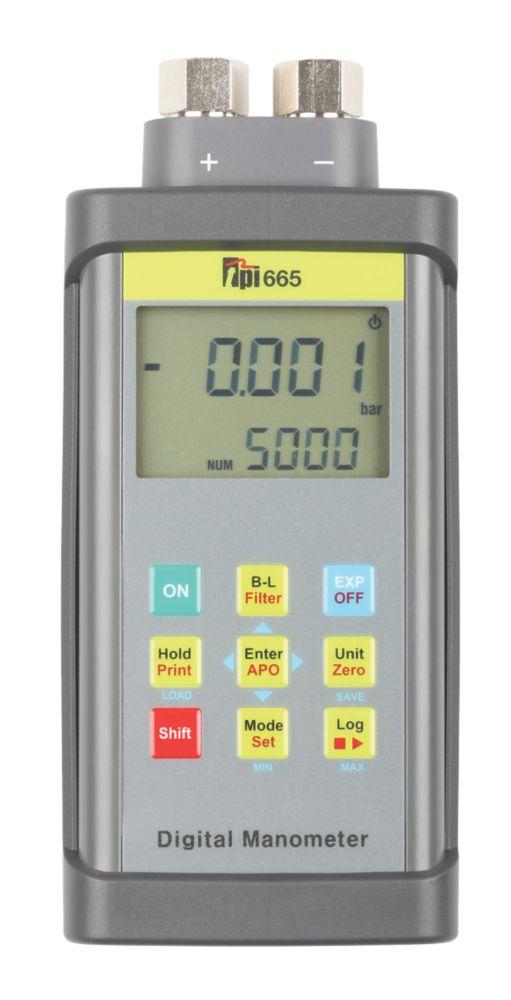 TPI 665 Dual Input Digital Manometer