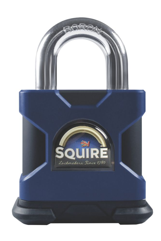 Squire SS50S Hardened Steel  Weatherproof   Padlock 50mm