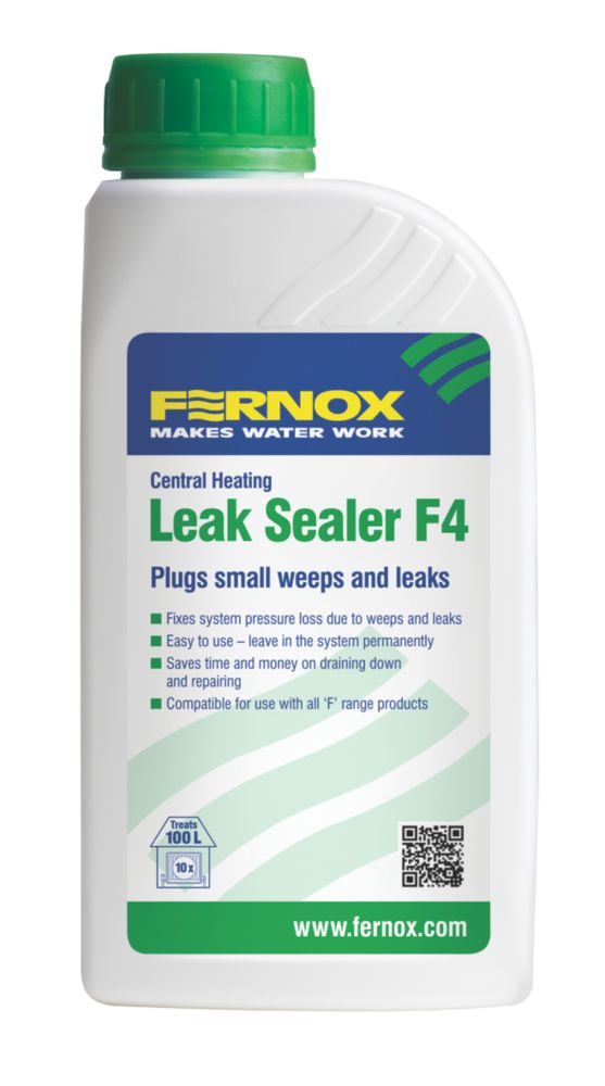 Fernox F4 Central Heating Leak Sealer 500ml