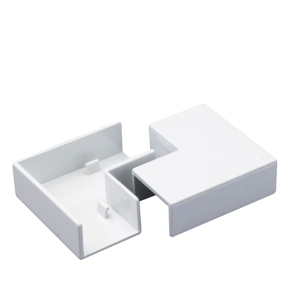 Tower  Flat Trunking Angles 25 x 16mm 2 Pack
