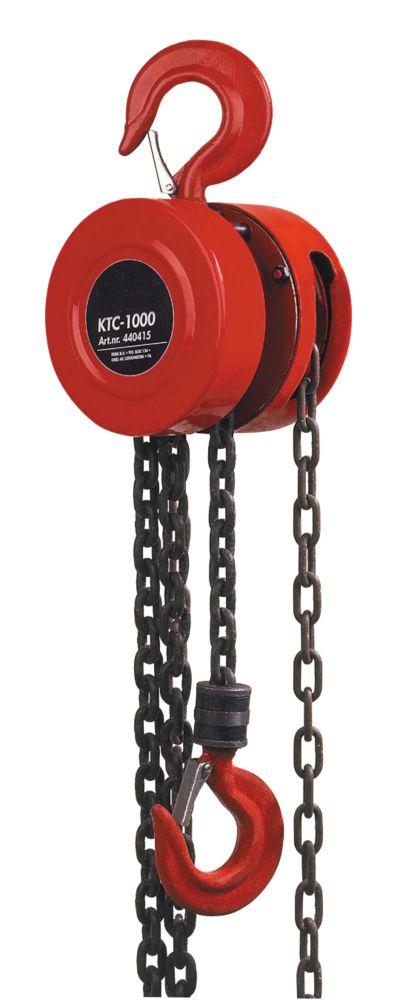 Hilka Pro-Craft 1-Tonne Heavy Duty Chain Block
