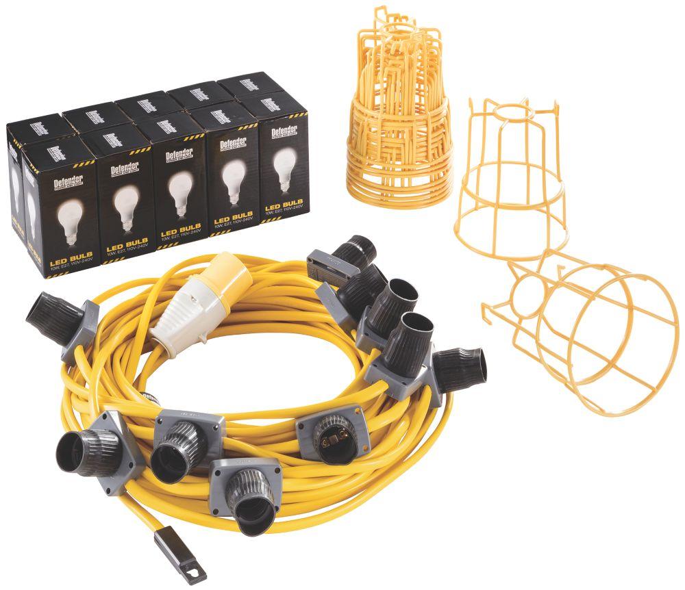 Defender  Festoon Lighting Chain 10W 110V
