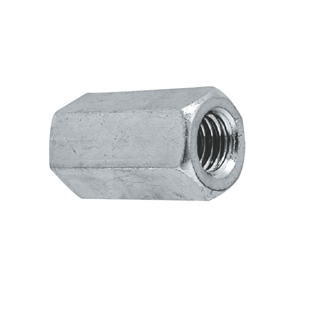 Easyfix A2 Stainless Steel Threaded Rod Connecting Nuts M6 10 Pack