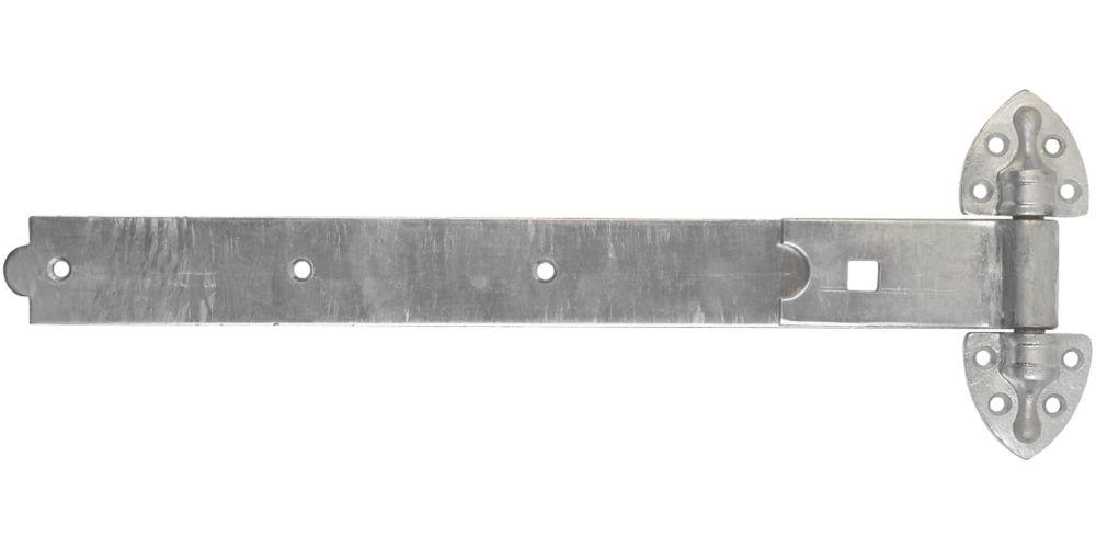 Smith & Locke  Heavy Duty Reversible Gate Hinges 30 x 500 x 185mm 2 Pack