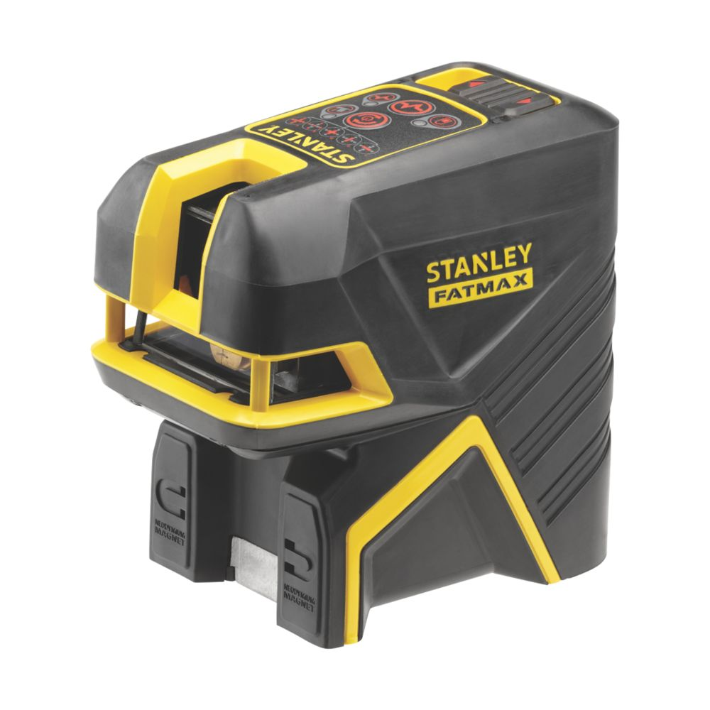 Stanley FatMax FMHT1-77414 Red Self-Levelling  Cross and 2 Spot laser - Red
