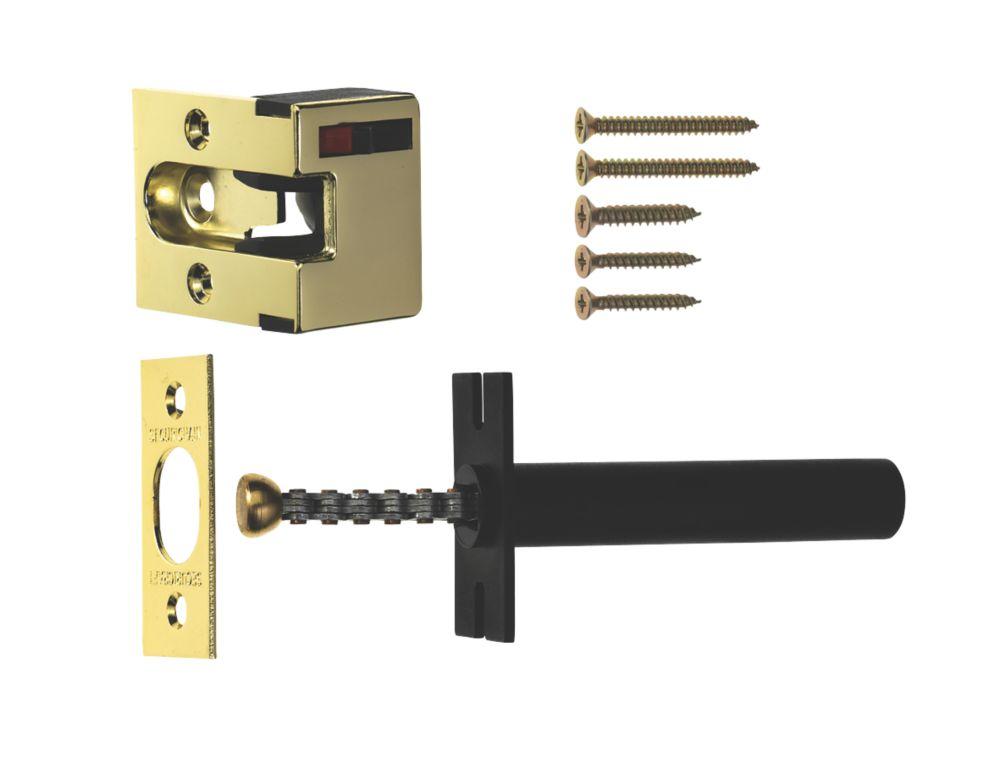 ERA Concealed Door Chain  Polished Brass