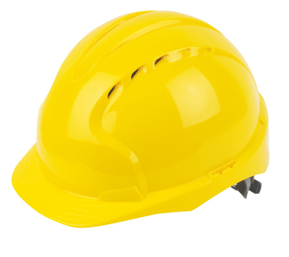 JSP EVOLite Vented Safety Helmet Yellow