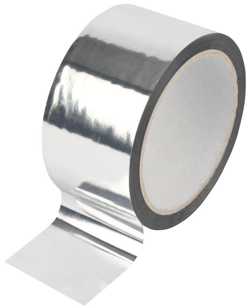 Diall Insulation Board Tape Silver 45m x 50mm