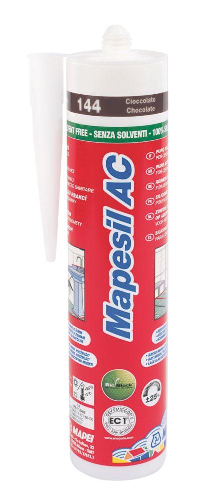 Mapei Mapesil AC 144 Solvent-Free Silicone Chocolate 310ml