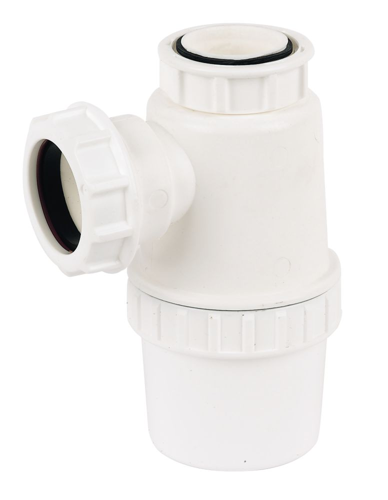 FloPlast Standard Bottle Trap White 40mm